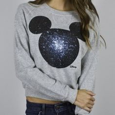Mikey Mouse! such a cute crew neck sweater