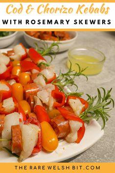 Tilapia Recipes, Fish Recipes, Seafood Recipes, Best Breakfast Recipes, Brunch Recipes, Dinner Recipes, Skewers, Kebabs, Chorizo Recipes