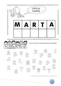 Abecedario - corta y pega / Spanish ABC cut and paste Alphabet Activities, Preschool Activities, English Activities For Kids, Name Puzzle, Letter Identification, Letter Stencils, Letter Set, Letter Recognition, Homeschool