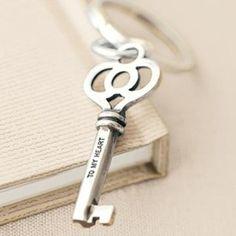 Key to my heart Under Lock And Key, Key Lock, Best Husband, Amazing Husband, Old Keys, Knobs And Knockers, Antique Keys, Key To My Heart, Simply Beautiful
