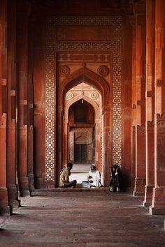 Palace at Fatehpur Sikri, India