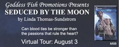 BOOK BLAST & #GIVEAWAY - Seduced by the Moon by Linda Thomas-Sundstrom - #Paranormal, #Romance, Book Blast, Goddess Fish Promotions  (August)