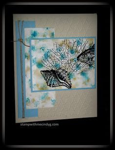 Stamp With Me Cindy G: Two Great Techniques Featuring One Great Stamp Set by Stampin' Up!