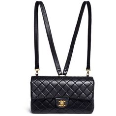Vintage Chanel Quilted lambskin leather 2.55 backpack