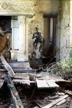 Blek Le Rat Bagnac castle abandoned france