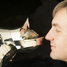 Bat Cat 2012, nickel, brass by Jeff de Boer