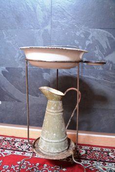 Taller de Restauración Lila; jofaina antigua