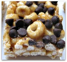 O Crunch Bars: a healthier (but just as delicious!) alternative to Rice Krispie Treats