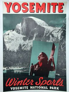 Yosemite National Park, California - Winter Sports