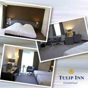 Tulip Inn Oosterhout  Description: Langs de A27 op een steenworp van Breda en attractiepark de Efteling vindt u Tulip Inn Oosterhout. Grenzend aan de Biesbosch en niet ver verwijderd van België is Tulip Inn Oosterhout de ideale locatie voor een ontspannen overnachting of een zakelijke bijeenkomst. Tulip Inn Oosterhout biedt volledig uitgeruste vergaderzalen een brasserie à la carte een zelfbedieningsrestaurant een gezellige hotel bar en een gift shop. Voor alle gasten is er ruim voldoende…