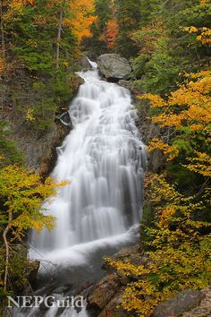 Crystal Cascade, Pinkham Notch, White Mountain National Forest, New Hampshire│Matt Stearns, New England Photography Guild