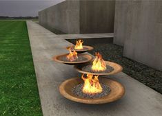 Fire bowl from Elena Colombo