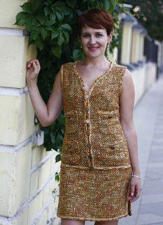 Реплика Шанель: как сшить платье от Карла Лагерфельда