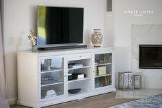szafka TV - jak zaaranżować kąt z telewizorem w stylu New York / New England — H O U S E L O V E S