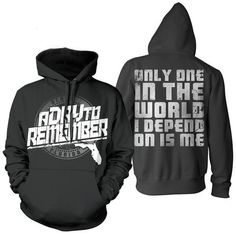 A Day To Remember: Florida Hardcore Hoodie from Victory Records. Saved to A Day To Remember. Band Merch, Band Shirts, A Day To Remember, Florida, Hoodies, Clothes, Collections, Products, Fashion