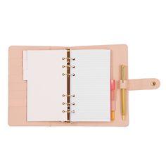 Agenda rose pâle et stylo   Maisons du Monde