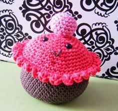 patrón gratuíto cupcake amigurumi