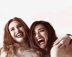 best friends, crystal reed, holland roden, teen wolf