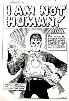 I wish Steve Ditko would come back just for one last run at Marvel.