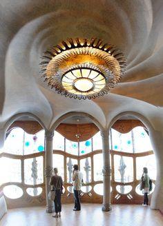 Interior Casa Batlló, Barcelona Catalonia