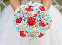 Image result for wedding invitation folder turquoise and red