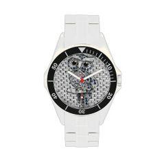 Owl Sapphire and Diamond Bling Design Wrist Watch