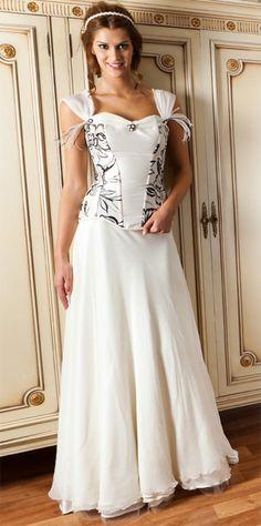 Modelos de vestidos de novia con corset