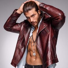 Choosing The Right Men's Leather Jackets – Revival Clothing Turkish Men, Turkish Actors, Revival Clothing, Anthony Joshua, Hommes Sexy, Madame, Mannequins, Stylish Men, Gorgeous Men