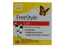 Freestyle lite glucose test strips 600ct 12 x 50 health these 100 freestyle lite test strips freestyle lite test strips are specially designed for fast easy testing and are intended to be used with freestyle lite and mozeypictures Gallery