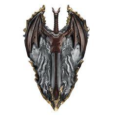 Shield With Hidden Sword Weapons Accessories