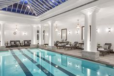 Mindfulness Studio - Indoor Temperature Controlled Swimming Pool In Grand Hotel Sri Lanka Swimming Pool House, Luxury Swimming Pools, Indoor Swimming Pools, Westbury Gardens, Hotel Gym, Grand Hotel, Pool Houses, Mindfulness, Balinese