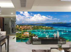 Photo Wallpaper Mural  Harbor & Coral Water