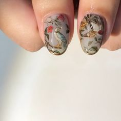 gucci tian 親指可愛すぎシリーズ __________________________________ #絵画 #art #nail #nailart #nails #ネイル #ネイルアート #油絵ネイル #kanazawa #金沢#toyama…