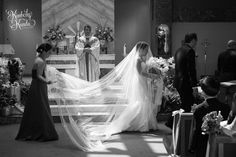 Jocelle & Dennis in the natural light of the church. (c) Kimberly Kunda Photography. www.kimberlykunda.com #kimberlykunda #kimberlykundaphotography #Philadelphiaweddingphotographer #NJweddingphotography #njweddings #southjerseyweddings #springwedding #naturallight