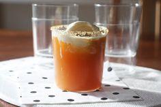 Thanksgiving Dessert Recipe: Apple Cider Ice Cream Float >> http://blog.diynetwork.com/maderemade/2014/11/04/savory-remade-diy-apple-cider-recipes-to-try/?soc=pinterest