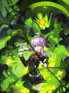 Owari No Seraph | Shinoa | A girl as graceful as she is deadly.