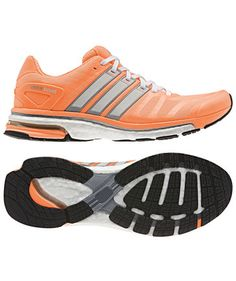 adidas Performance - Damen Laufschuh Adistar Boost orange #adidas #running #girlsgosports