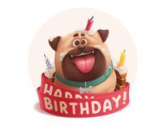 Gift Dog by Anton Kuryatnikov ★ Find more at http://www.pinterest.com/competing/