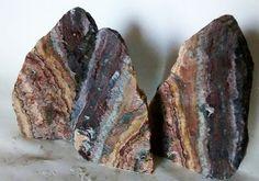 Exotic Rainbow Rock Set 3 HIGH QUALITY AQUARIUM STONES FREE US SHIPPING #RNBW #Doesnotapply