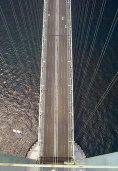 Exploring The World's Longest Suspension Bridge – Akashi Kaikyo - The Real Japan Hyogo, Suspension Bridge, Japanese Architecture, Rising Sun, Hiroshima, Small Island, Japan Travel, Travel Guide, Exploring