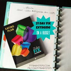 Walks you through how to do the 21 Day Fix Extreme on a budget of $20/person per week