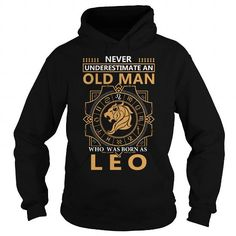 Awesome Tee LEO OLD MAN Shirts & Tees