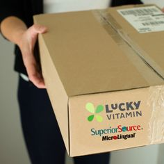 Lucky Vitamin has Superior Source #GMOFree, #SugarFree, #HealthyVitamins and you can set up autoship!
