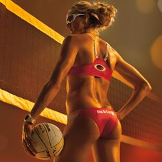 Courtesy of Women's Health- build a butt like Kerri Walsh's.  I am a sucker for glute exercises.