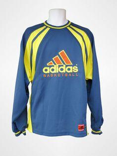 Adidas Basketball Men's Long Sleeve Sweater Top, Size L