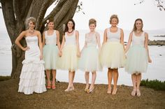 Tulle Skirts for bridesamaids