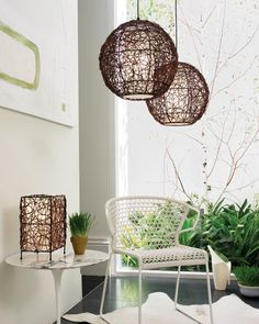 Beacon Lighting - Barbados 1 light large round pendant in brown wengee cane with white fabric diffuser Modern Pendant Light, Pendant Lighting, Room Lights, Ceiling Lights, Beacon Lighting, Kitchen Benches, Bedroom Lighting, Light Decorations, White Light