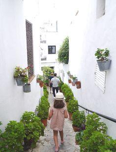 Hotel Las casas del Califa in Vejer de la Frontera. Some nice village houses restored as a boutique Hotel in Spain
