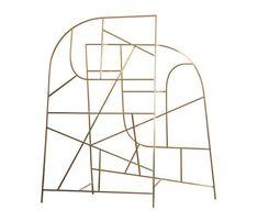 raumteiler skulpturell design-freie gestaltung aufbau-rot amass, Innenarchitektur ideen