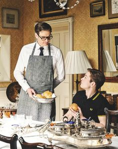 Harry & Eggsy - so domestic <3